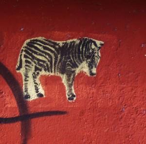 Street art in P;laya Del Carmen