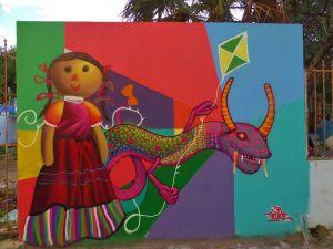 Street Art in Playa Del Carmen