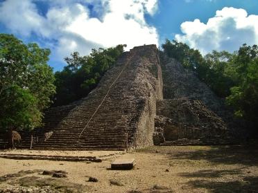 Coba Mayan ruins Mexico