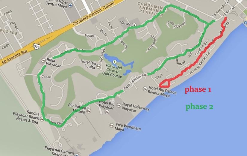 Playacar map