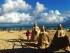 Sand sculpture in Playa Del Carmen