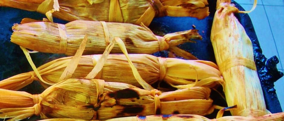 Home made tamales, Playa Del Carmen