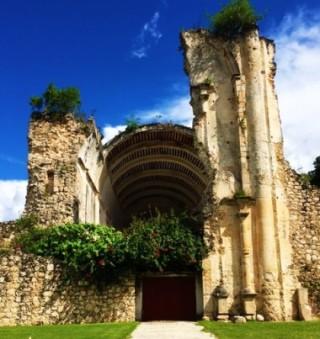 Iglesia de Santo Nino Jesus in the Mayan town of Tihosuco