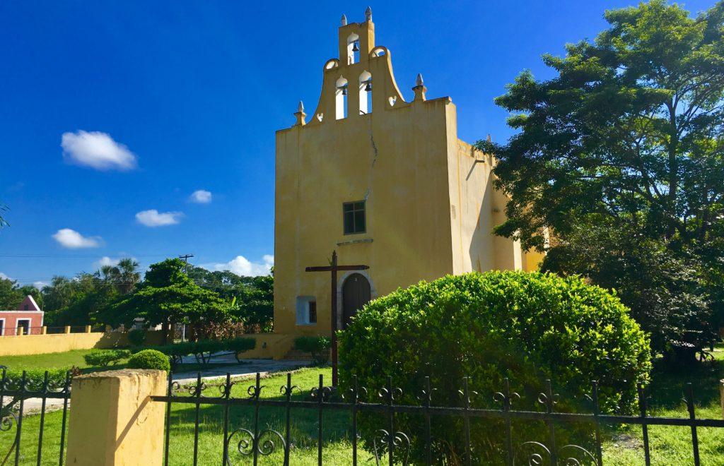 Tikuch old Churches Yucatan Mexico
