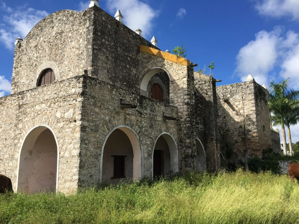 old Churches Yucatan Mexico