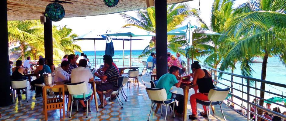 Canibal Royal Beach Club in Playa Del Carmen