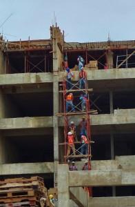 construction hiltion playa del carmen mexico