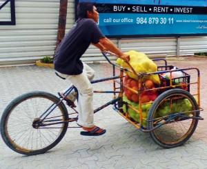 Tricycle bike playa del carmen mexico