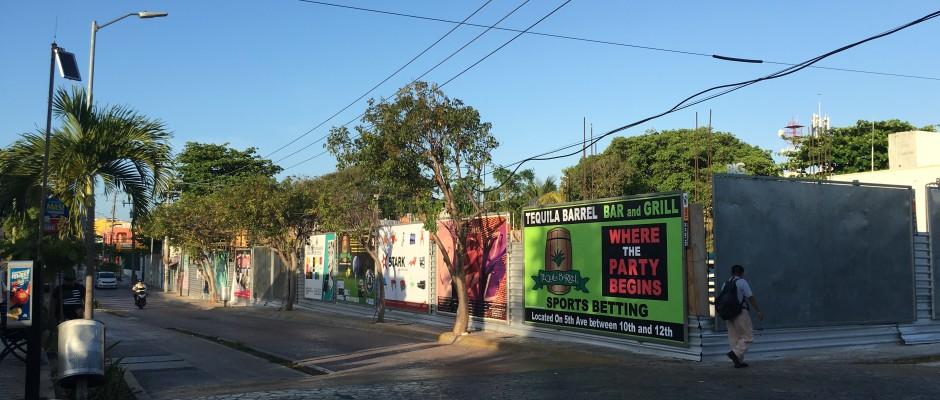 New building in Playa Del Carmen construction