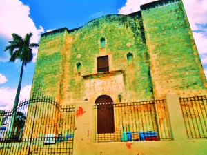 Old Churches in the Yucatan