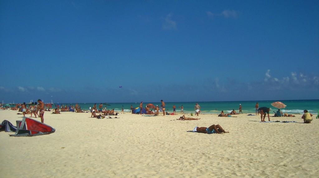 Beach Playa DelCarmen