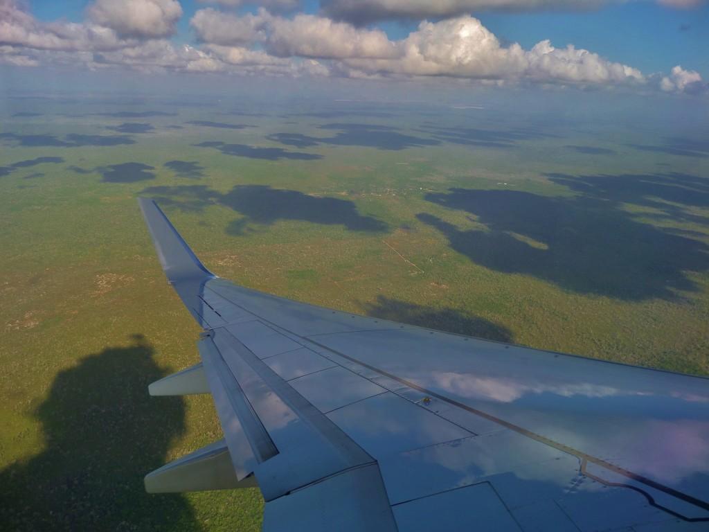 Yucatan aerial view