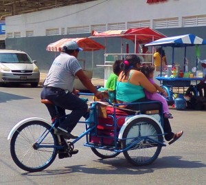 tricycle bike , playa del carmen, mexico