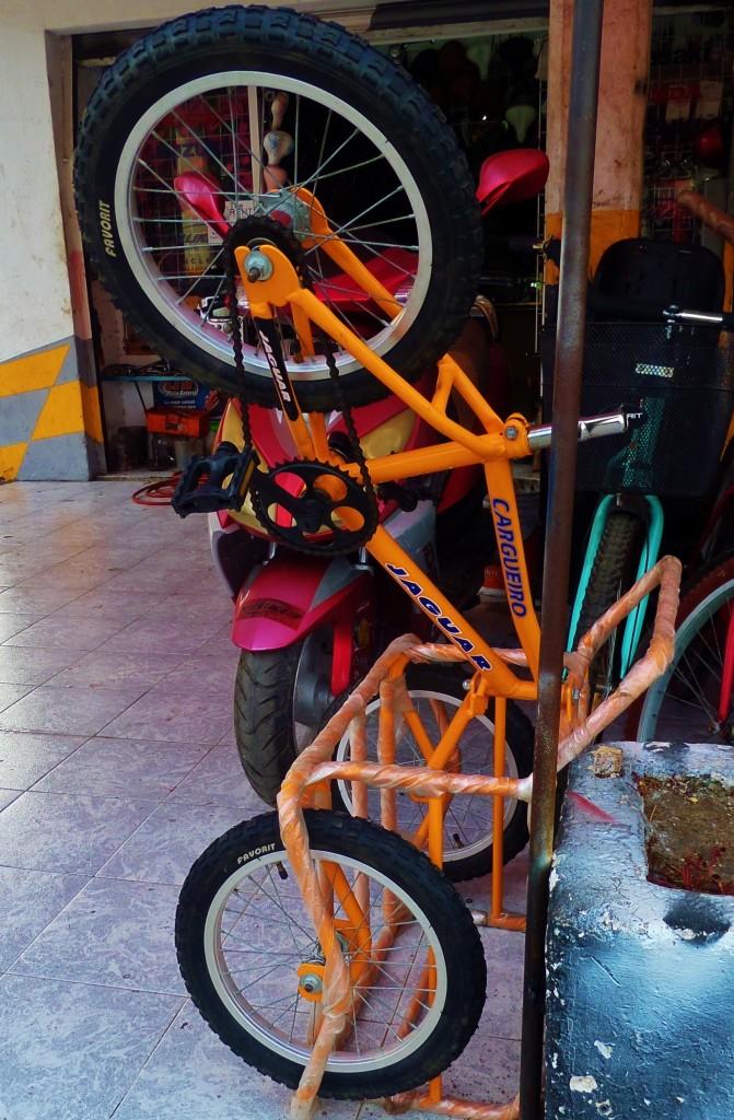 tricycle Playa Del Camen, Mexico