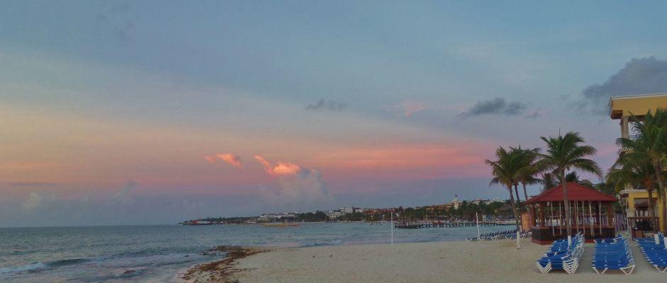 Playa Del Carmen sunrise
