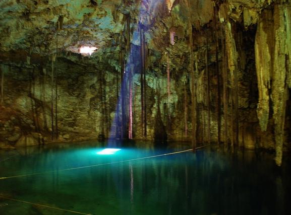 Cenote , Vallladolid Dzitnup