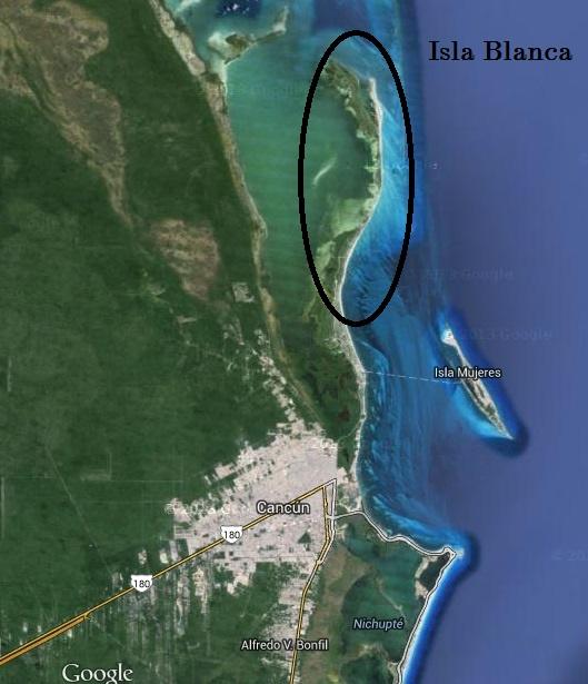 Isala Blanca Cancun Mexico