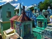 Hoctun Cemetery, Yucatan ,Mexico