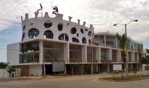 New construction, building on CTM avenue Playa Del Carmen
