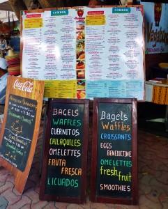 La vagabunda restaurant playa del carmen
