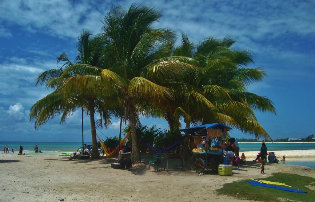 secret beach in Playa del Carmen Mexico