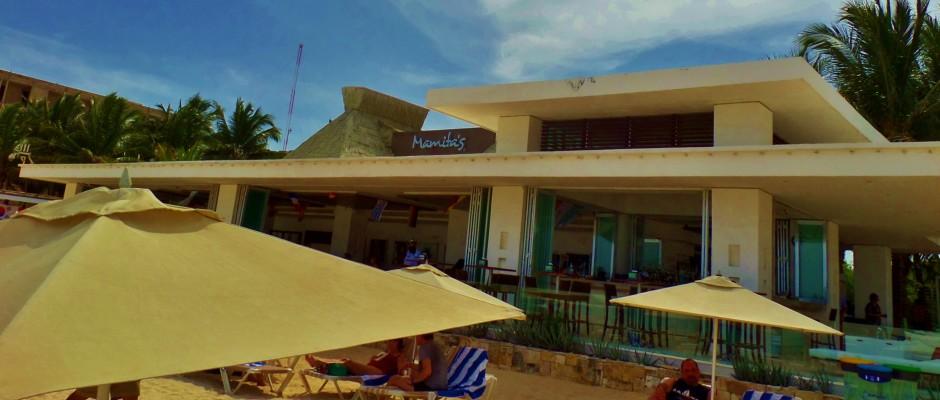 Mamitas Beach Club in Playa Del Carmen Mexico