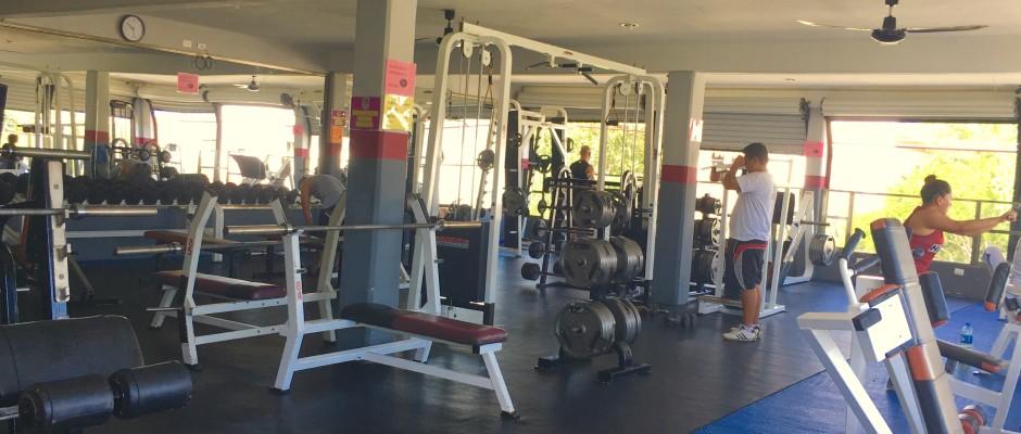 Muscle Beach Gym Playa Del Carmen