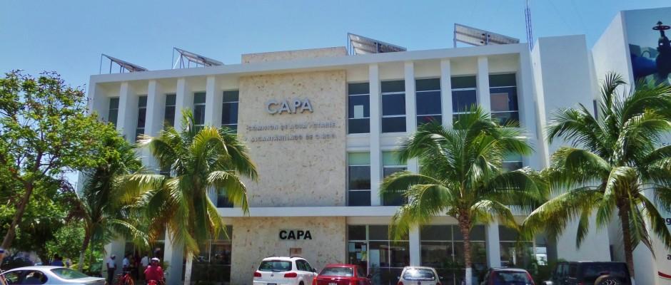 Water Department in Playa Del Carmen