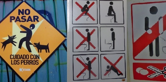 Funny signs in Mexico