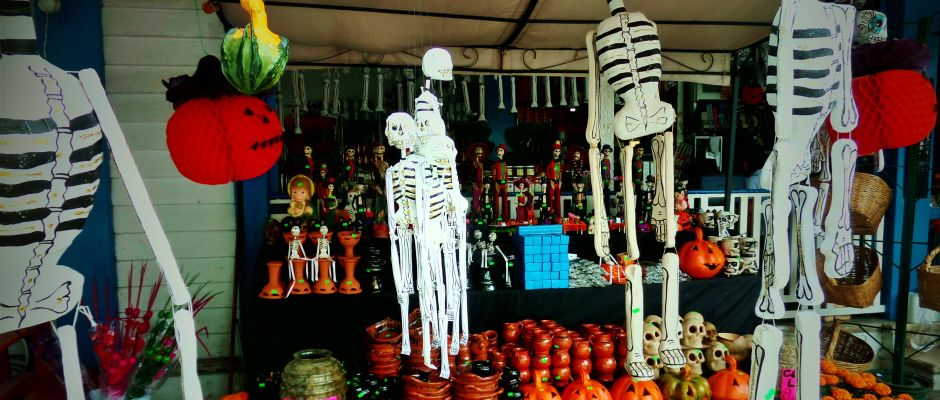 Day fo the Dead in Playa Del Carmen