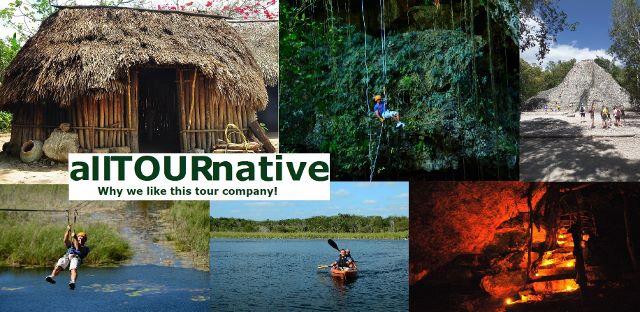 Alltournative tour company Playa Del Carmen