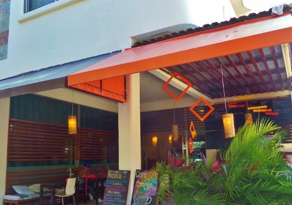Cafe Orange Restaurant Playa Del Carmen
