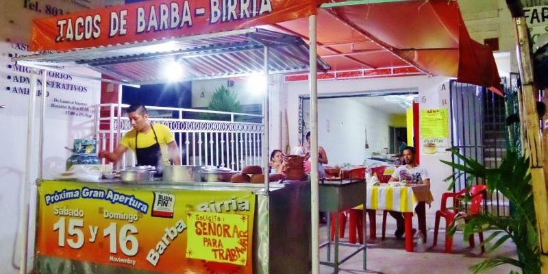 Tacos De birria Playa Del Carmen