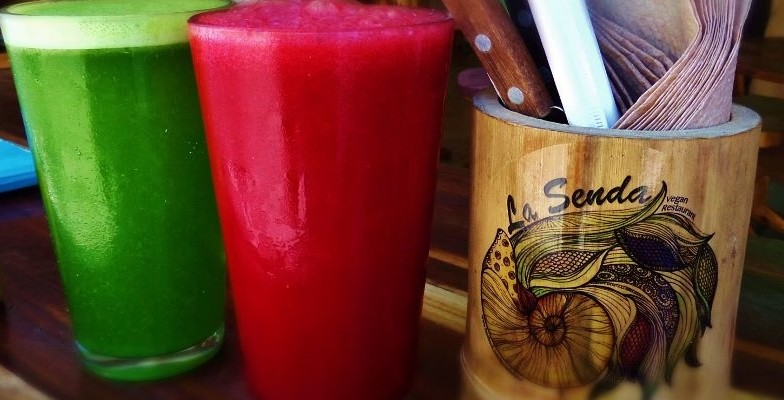La Senda vegetarian restaurant in Playa Del Carmen