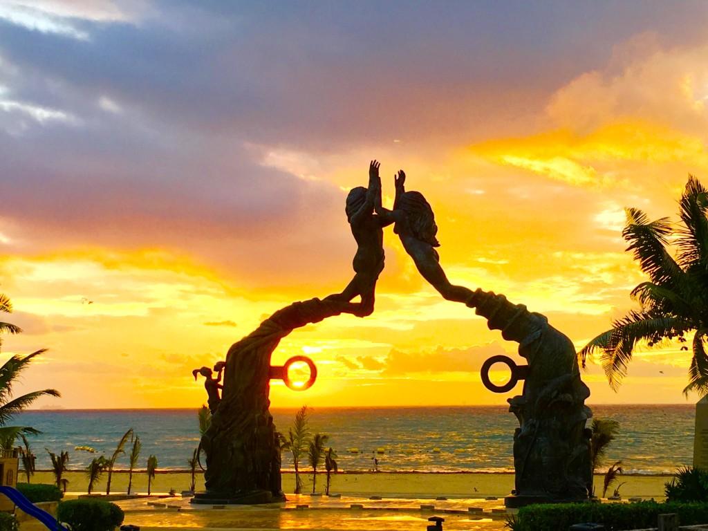 Sunrise in Playa Del Carmen, Mexico