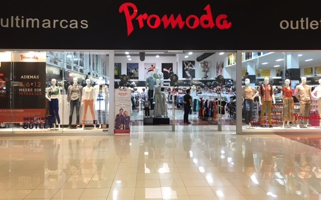 Promoda Store in Centro Maya