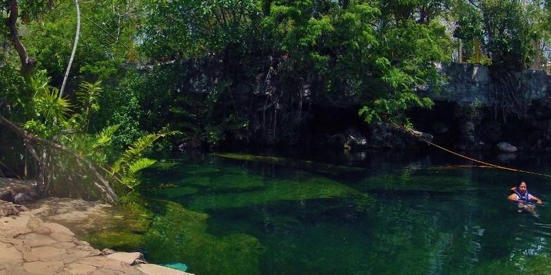 closest cenotes to Playa Del Carmen