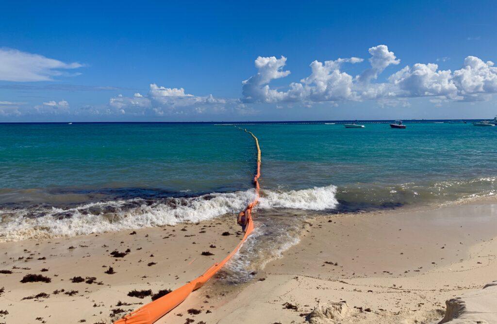 seaweed barrier