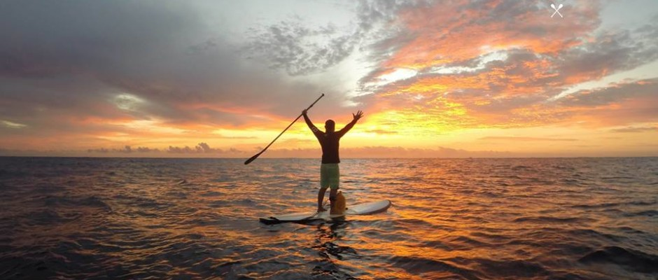 Paddle boarding Playa Del Carmen