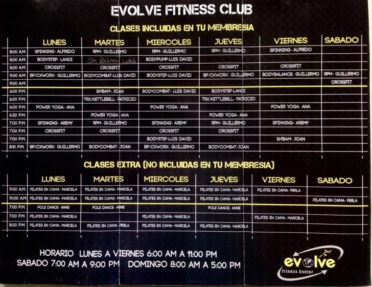 Evolve Gym Playa Del Carmen
