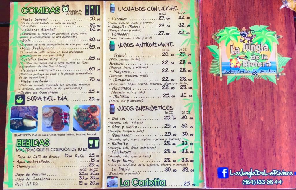 La Jungla de la Rivera Playa Del Carmen Restaurant