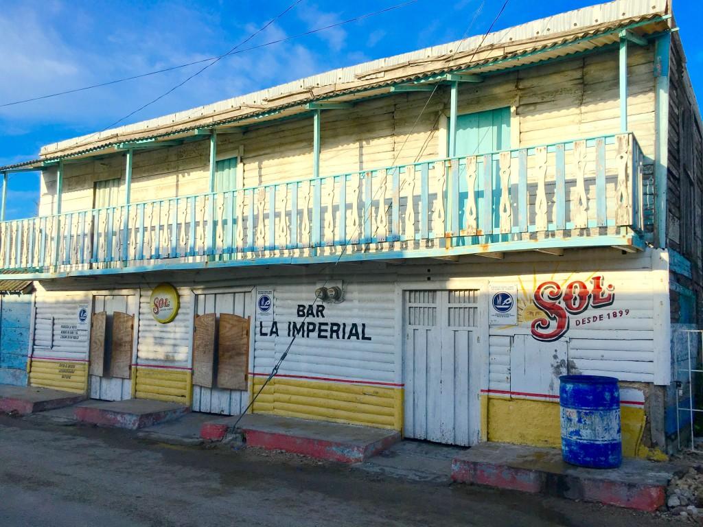 Rio Lagartos town