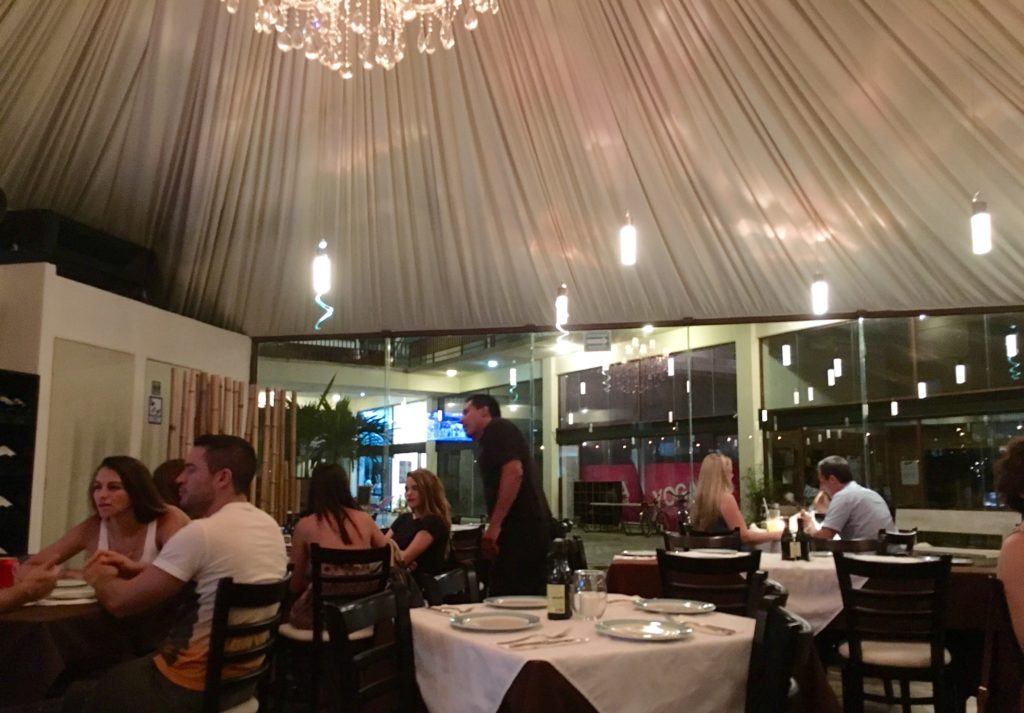 Casa Sofia italian Restaurant Playa Del Carmen