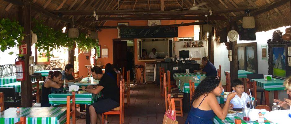 Rincon Yucateco Restaurant Playa Del Carmen Yucatecan food.