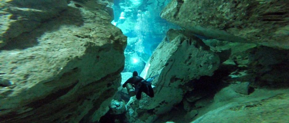 Diving with blue Life Dive Shop Playa Del Carmen