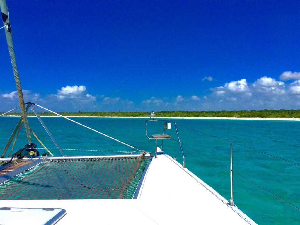 Catamaran tours in the Riviera Maya
