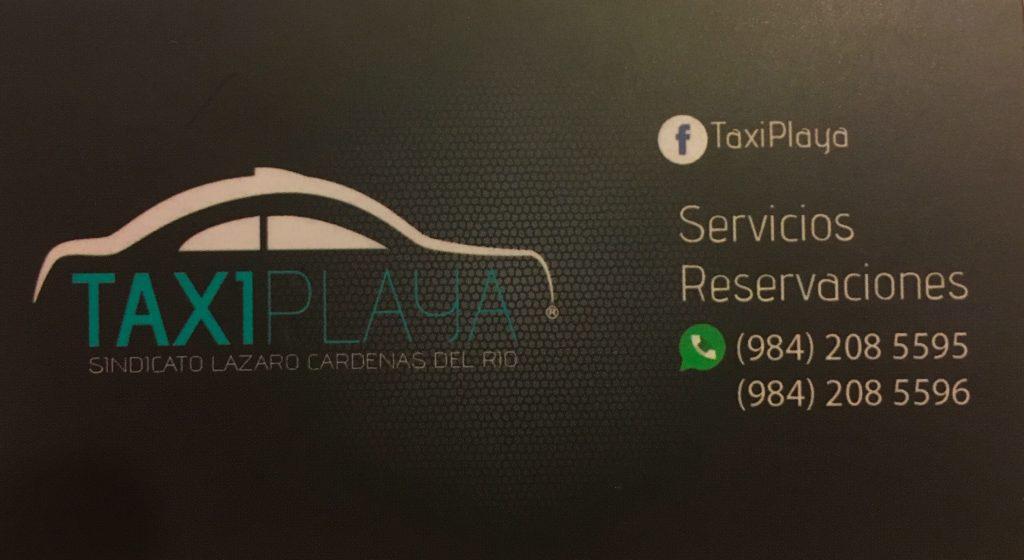 taxis in Playa Del Carmen