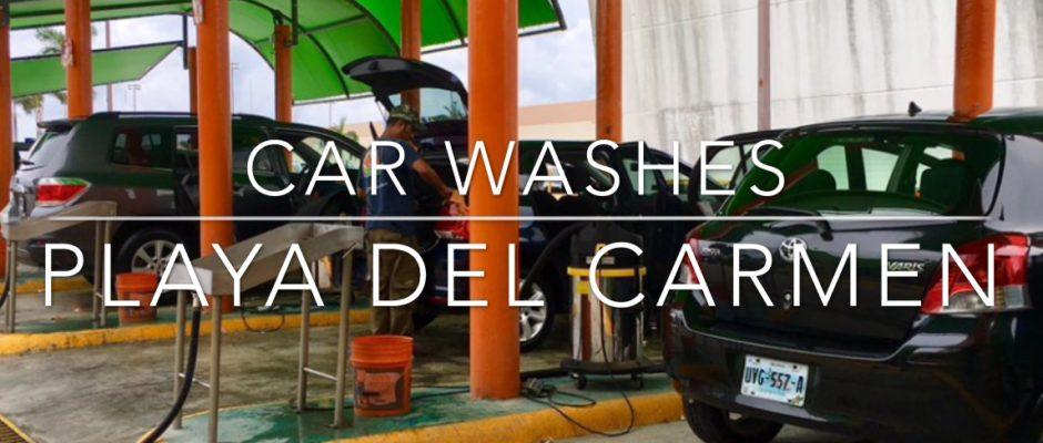 Car washes in Playa Del Carmen