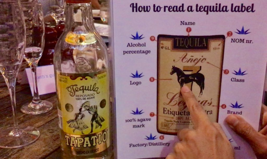 Tequila tasting in Playa Del Carmen with Tequila Academy