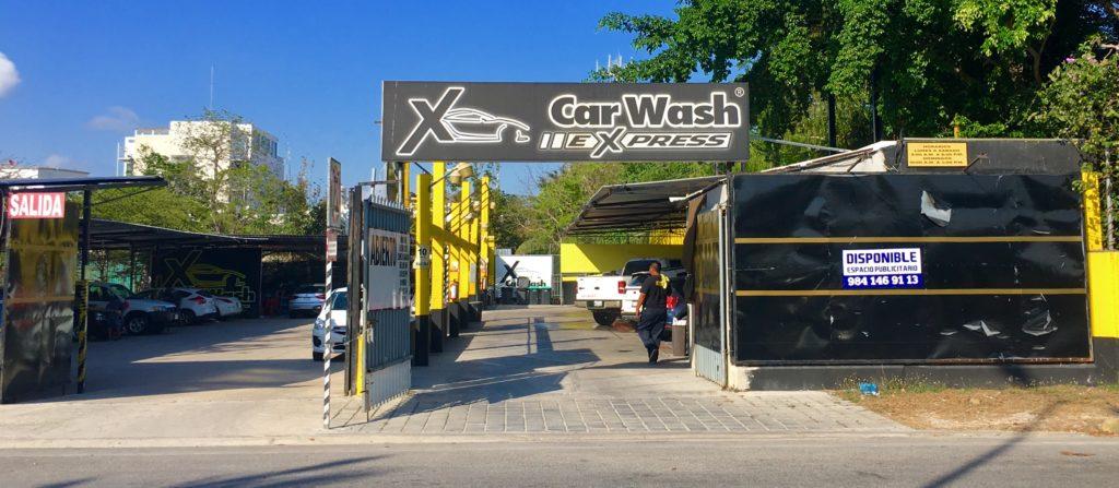 Car wash Playa Del Carmen
